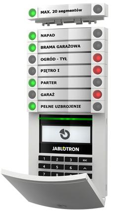 Intuicyjna i prosta obsługa systemu Jablotron 100