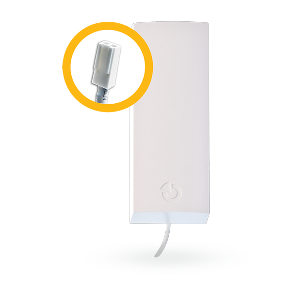 2-pinowa antena AN_868-2PIN do zwiększenia zasięgu radiowego