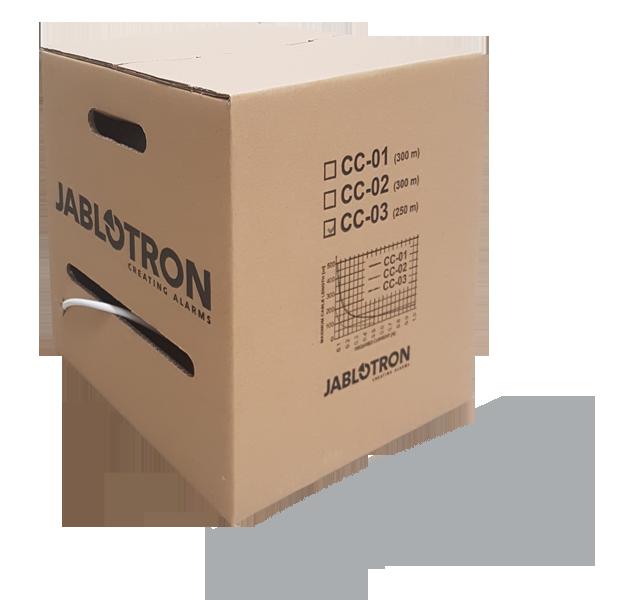 Przewód 8-żyłowy dla systemów alarmowych Jablotron 100