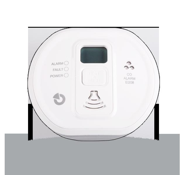 EI208DW - czujka czadu (CO) z wyświetlaczem LCD