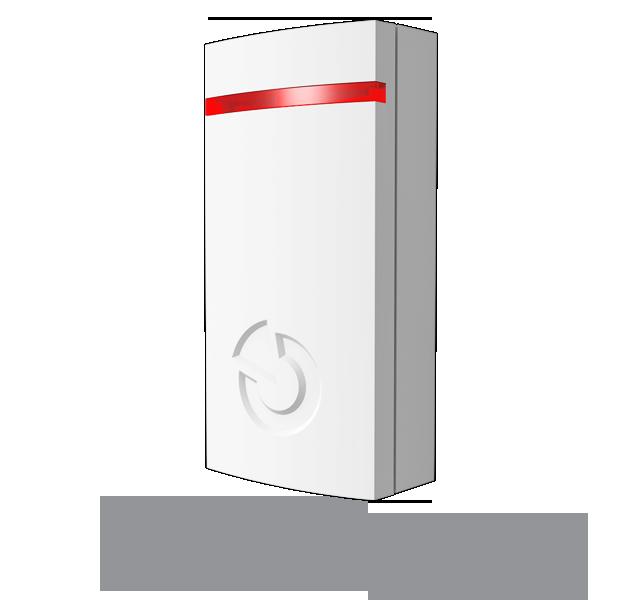 Czujka temperatury systemu JABLOTRON 100 z możliwością przesyłu informacji dla użytkownika do aplikacji Mój Jablotron