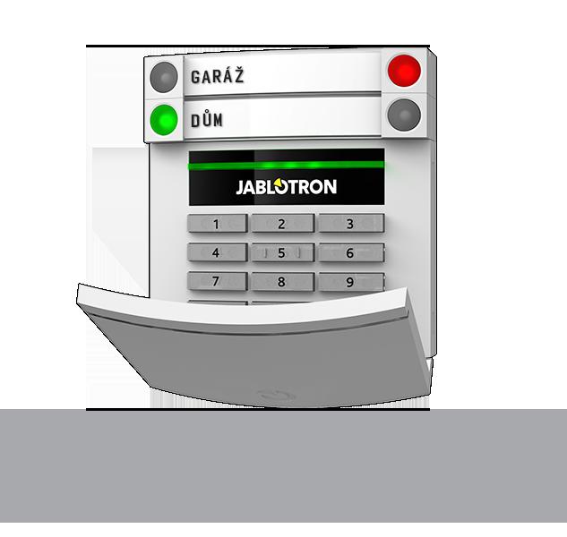 JA-153E 2-kierunkowa bezprzewodowa klawiatura z czytnikiem RFID systemu JA-100