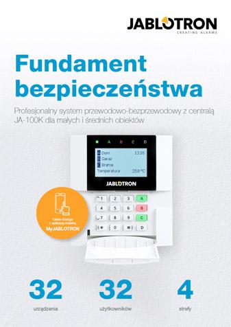 Katalog urządzeń systemu alarmowego Jablotron 100