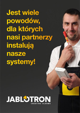 Broszura dla instalatora systemu alarmowego JA-100