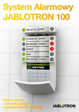 Ulotka JABLOTRON 100 - rozwiązania dla domu i biznesu