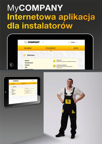MyCompany - internetowa aplikacja dla instalatorów