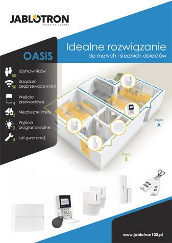 Ulotka systemu OASiS dla małych i średnich obiektów