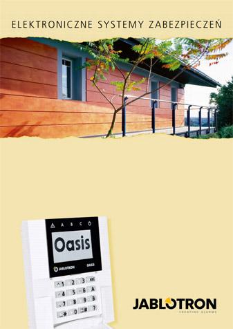 Katalog urządzeń systemów alarmowch OASiS i PROFI firmy Jablotron