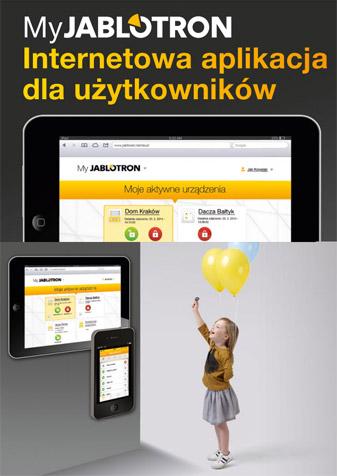 MyJablotron - internetowa aplikacja dla użytkowników