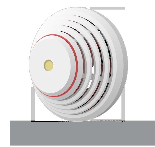 Bezprzewodowa czujka dymu i temperatury JA-85ST do obiektów mieszkalnych oraz komercyjnych.