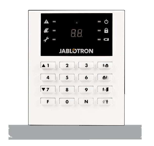 Manipulator (klawiatura) JA-63F z wyświetlaczem LCD do alarmów serii PROFI i Maestro