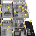 Jeden system alarmowy dla wielu niezależnych biur. Czy to możliwe?