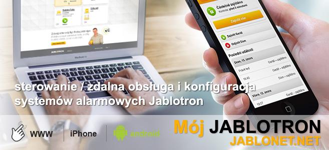 Jablonet.net - sterowanie, zdalna obsługa i konfiguracja systemami alarmowymi Jablotron
